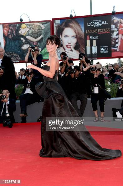 Lorena Bianchetti attends the 'The Zero Theorem' Premiere during the 70th Venice International Film Festival at Sala Grande on September 2 2013 in...