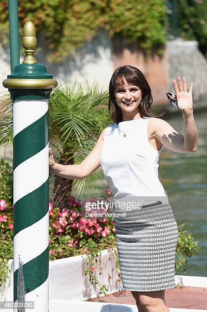 Lorena Bianchetti is seen on day 6 of the 72nd Venice Film Festival on September 7 2015 in Venice Italy