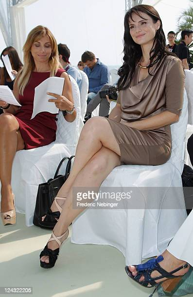 Lorena Bianchetti poses at the 'A Simple Life' awards during the 68th Venice Film Festival at Palazzo del Cinema on September 9 2011 in Venice Italy