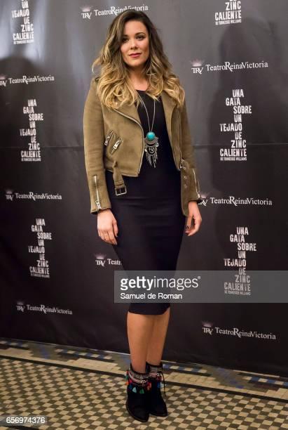 Lorena Gomez attends 'Una Gata Sobre Un Tejado de Zinc Caliente' Madrid Premiere on March 23 2017 in Madrid Spain