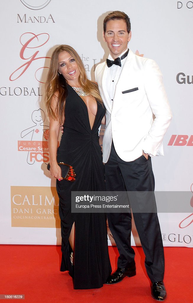 Lorena Morlote and David Meca attend the Global Gift Gala 2012 a party held by Cesare Scariolo Foundation and Eva Longoria Foundation to raise money...
