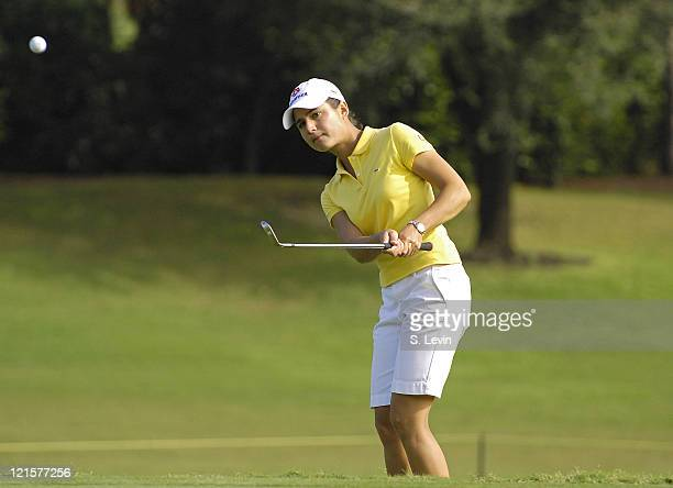 Lorena Ochoa during the second round of the ADT Championship at the Trump International Golf Club in West Palm Beach Florida on Friday November 17...