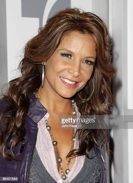 Lorena Rojas attends Lazos de Esperanza at Telemundo Studios on November 20 2008 in Miami