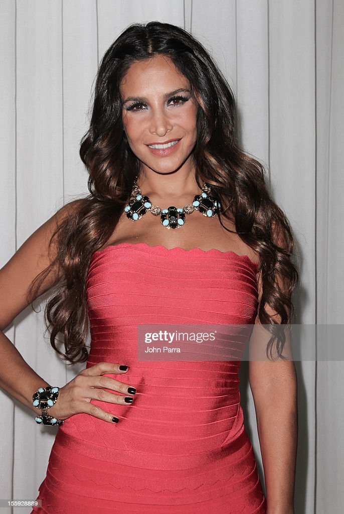 Lorena Rojas attends Miami Hair, Beauty & Fashion 2012 By Rocco Donna at Viceroy Hotel Spa on November 8, 2012 in Miami, Florida.