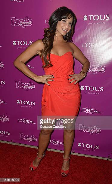 Lorena Rojas attends People En Espanol Celebrates The 25 Most Powerful Women at The Biltmore Hotel on October 23 2012 in Coral Gables Florida