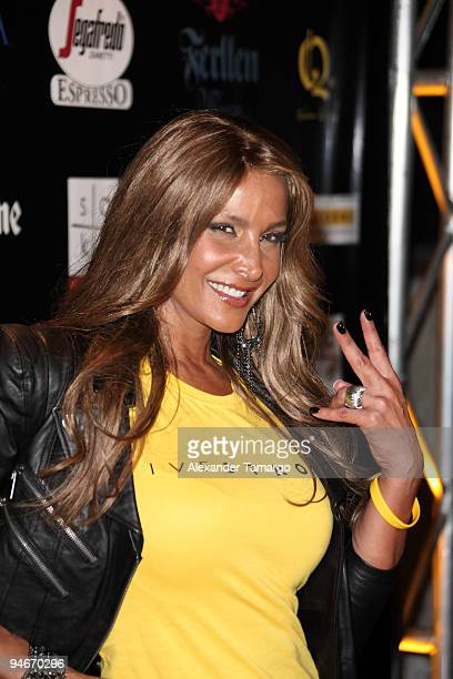 Lorena Rojas attends the Yellow Nights event to benefit the Lance Armstrong Foundation on December 16 2009 in Miami Florida