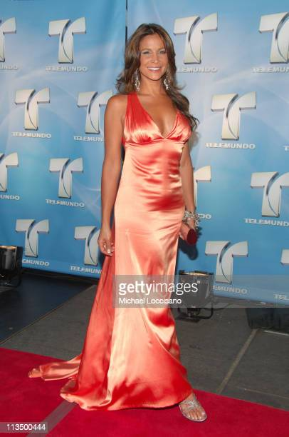 Lorena Rojas during 2007 Telemundo Upfront at Radio City Music Hall in New York City New York United States