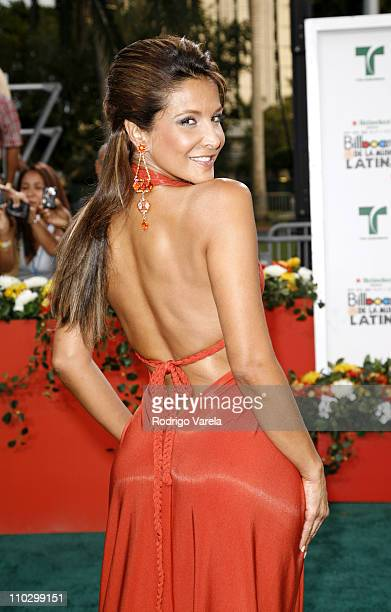 Lorena Rojas during Billboard Latin Music Conference and Awards 2007 Arrivals at Bank United Center in Coral Gables Florida United States
