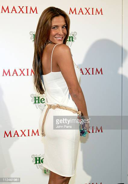 Lorena Rojas during Ricardo Chaviria hosts Heineken Premium Light Launch Party at Casa Casuarina at Casa Casuarina in Miami Beach Florida United...