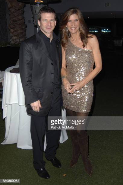 Lorenz Baumer and Julie Moran attend Lorenz Baumer Private Dinner in Celebration of his Paris Fine Jewelry Collection at The London West Hollywood...