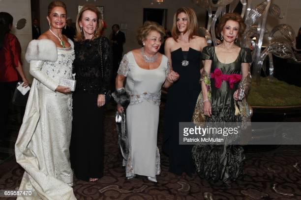 Lorenza Dipp de Torres Lample Gaetana Enders Patricia Suarez de Sola and Yolanda Santos attend CASITA MARIA FIESTA at Mandarin Oriental Hotel on...