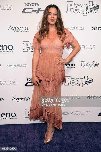 Lorenza Izzo arrives at People en Espanol's 50 Most Beautiful Gala 2017 at Espace on May 16 2017 in New York City