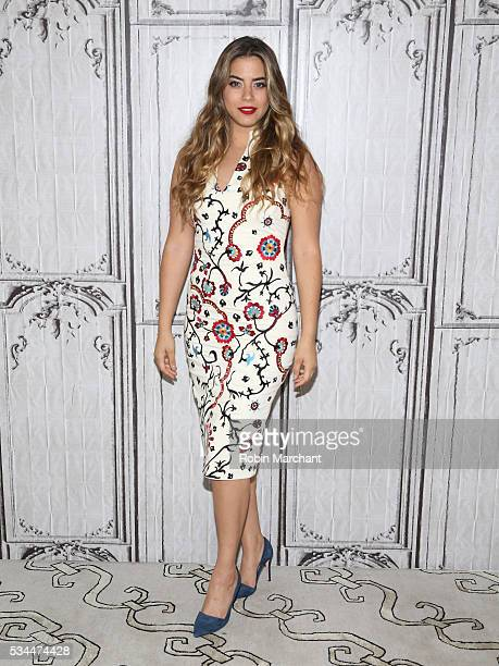 Lorenza Izzo attends AOL Build Presents Lorenza Izzo Discussing Her New Film 'Feed The Beast' at AOL Studios In New York on May 26 2016 in New York...