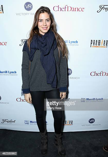 Lorenza Izzo attends ChefDance 2015 presented by Victory Ranch and sponsored by Merrill Lynch Freixenet Anchor Distilling and Premier Meat Co on...