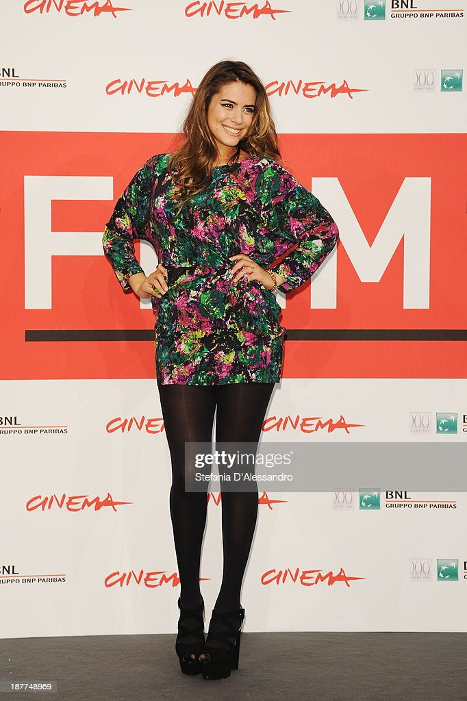 Lorenza Izzo attends the 'The Green Inferno' Photocall during the 8th Rome Film Festival at the Auditorium Parco Della Musica on November 12, 2013 in Rome, Italy.