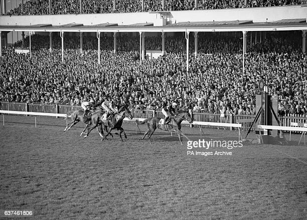 Lorenzaccio G Lewis up wins from Nijinsky Lester Piggott up and Hotfoot J Goeton up
