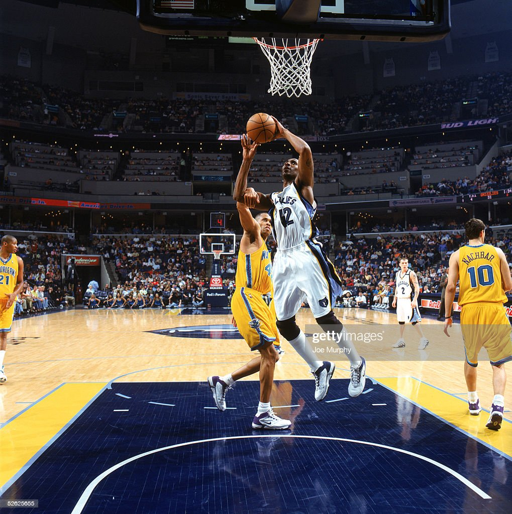New Orleans Hornets v Memphis Grizzlies s and