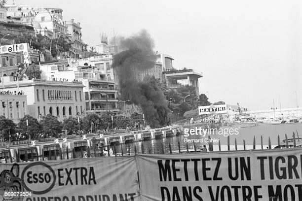Lorenzo Bandini Ferrari 312 Grand Prix of Monaco Circuit de Monaco 07 May 1967 On lap 82 of the 1967 Monaco Grand Prix disaster and tragedy struck...