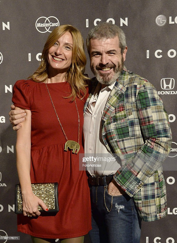 <a gi-track='captionPersonalityLinkClicked' href=/galleries/search?phrase=Lorenzo+Caprile&family=editorial&specificpeople=714755 ng-click='$event.stopPropagation()'>Lorenzo Caprile</a> (R) and guest attend 'Icon' magazine launch party at the Circulo de Bellas Artes on November 6, 2013 in Madrid, Spain.