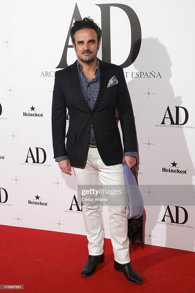 Lorenzo Castillo attends the AD Awards 2014 at the Santa Coloma Palace on February 27, 2014 in Madrid, Spain.