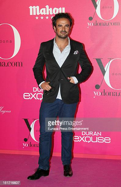 Lorenzo Castillo attends the 'Yo Dona' Magazine cocktail at Villa Magna Hotel on September 3 2012 in Madrid Spain
