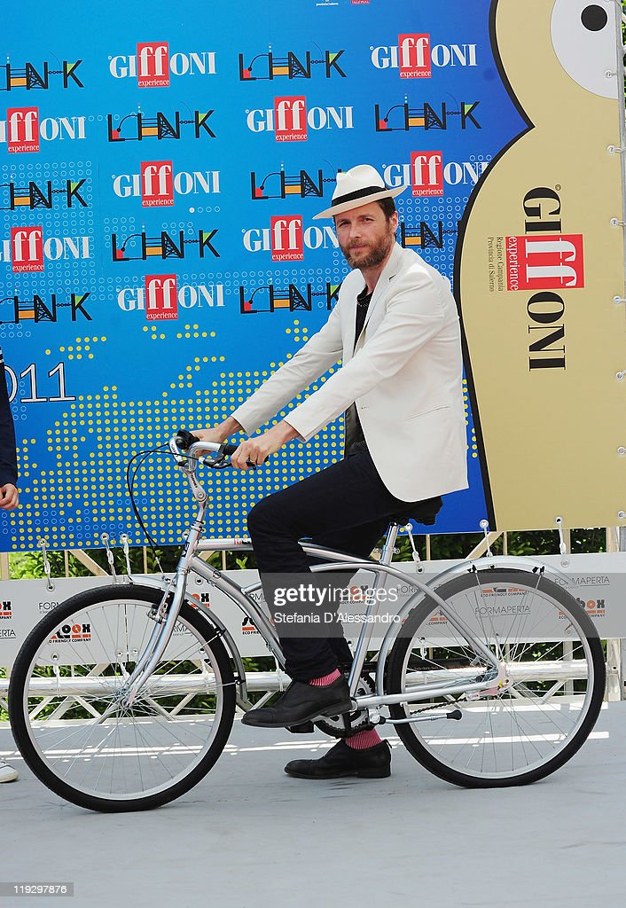 Lorenzo Cherubini 'Jovanotti' attends 2011 Giffoni Experience on July 17, 2011 in Giffoni Valle Piana, Italy.