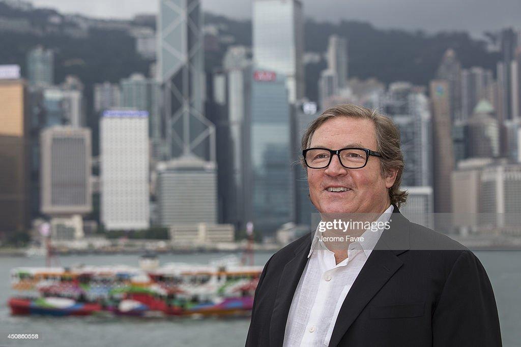 Lorenzo di Bonaventura arrives at the worldwide premiere screening of 'Transformers Age of Extinction' at the on June 19 2014 in Hong Kong Hong Kong
