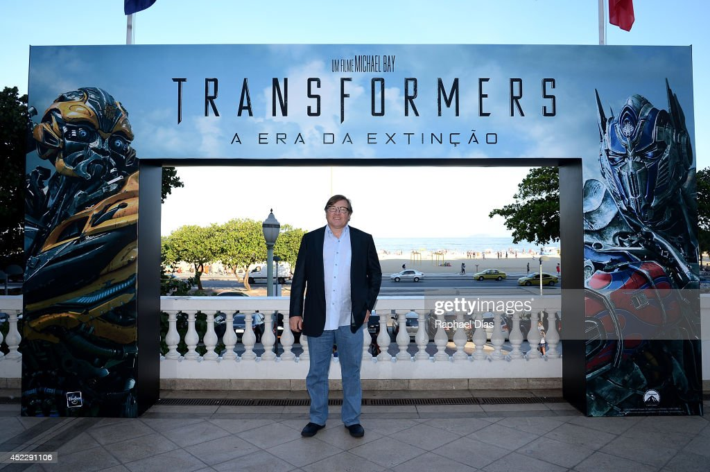 Lorenzo Di Bonaventura attends the photocall for Paramount Pictures' 'Transformers: Age of Extinction' at Copacabana Palace Hotel on July 17, 2014 in Rio de Janeiro, Brazil.