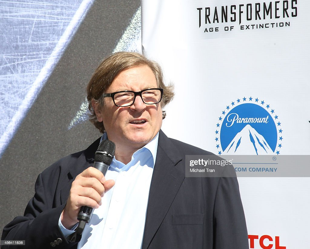 Lorenzo di Bonaventura attends the Transformer Optimus Prime hand/footprint ceremony held at TCL Chinese Theatre IMAX on September 30 2014 in...