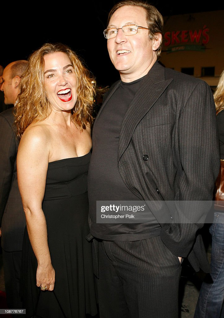 Lorenzo di Bonaventura producer right and wife during 'Shooter' Los Angeles Premiere Red Carpet at Mann Village Theatre in Westwood California United...