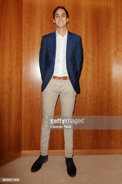 Lorenzo Diaz attends the 'Periodismo Cientifico Concha Garcia Campoy' awards at Mapfre Foundation on July 6 2017 in Madrid Spain