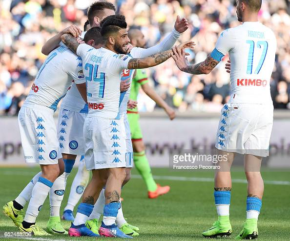 SSC Napoli v FC Crotone - Serie A : News Photo