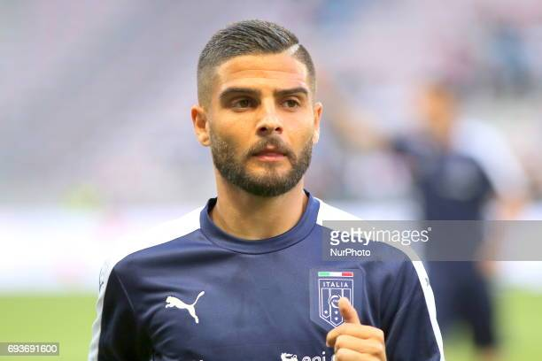 Lorenzo Insigne before the international friendly between Italy and Uruguay at Allianz Riviera stadium on June 7 2017 in Nice France Italy won 30...