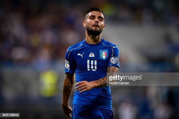 Lorenzo Insigne of Italy looks dejected during the FIFA 2018 World Cup Qualifier between Italy and Israel Italy wins 10 over Israel