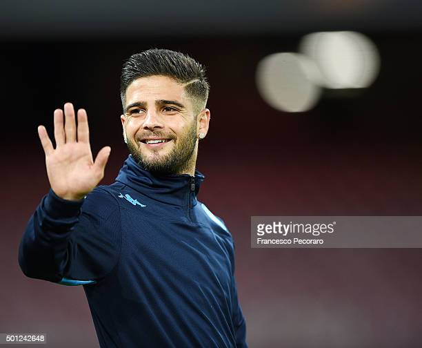 Lorenzo Insigne of Napoli in action during the UEFA Europa League Group D match between SSC Napoli and Legia Warszawa on December 10 2015 in Naples...