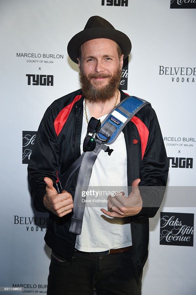 Lorenzo Jovanotti attends the Marcelo Burlon x Tyga Capsule Collection Party at The Blond at 11 Howard Hotel on May 12, 2016 in New York City.