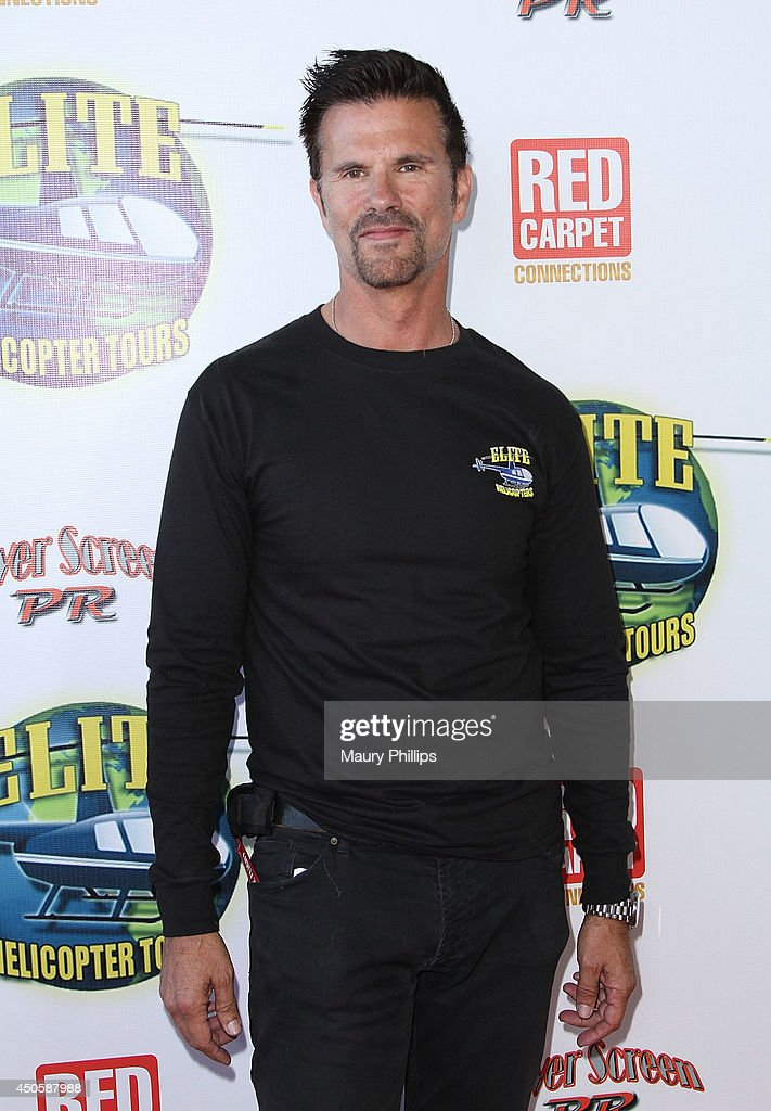 <a gi-track='captionPersonalityLinkClicked' href=/galleries/search?phrase=Lorenzo+Lamas&family=editorial&specificpeople=209164 ng-click='$event.stopPropagation()'>Lorenzo Lamas</a> arrives at <a gi-track='captionPersonalityLinkClicked' href=/galleries/search?phrase=Lorenzo+Lamas&family=editorial&specificpeople=209164 ng-click='$event.stopPropagation()'>Lorenzo Lamas</a>' New Business Elite Helicopter launch party at the Van Nuys Airport on June 13, 2014 in Van Nuys, California.