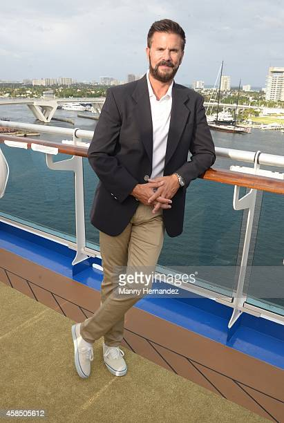 Lorenzo Lamas attends Love Boat Cast Christening Of Regal Princess Cruise Ship at Port Everglades on November 5 2014 in Fort Lauderdale Florida