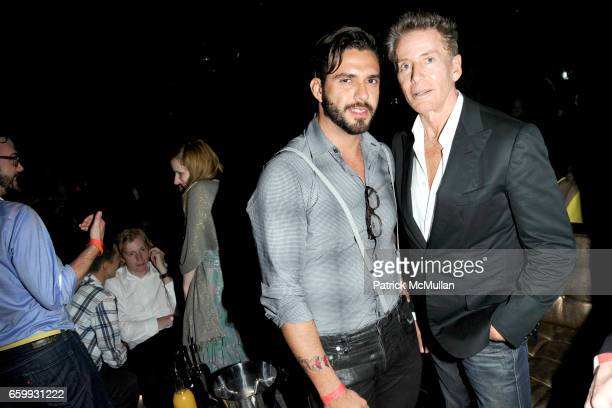 Lorenzo Martone and Calvin Klein attend Party at WALL Hosted by VITO SCHNABEL STAVROS NIARCHOS ALEX DELLAL at WALL at the W SOUTH BEACH on December 3...