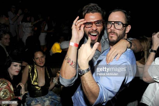 Lorenzo Martone and Cator Sparks attend Party at WALL Hosted by VITO SCHNABEL STAVROS NIARCHOS ALEX DELLAL at WALL at the W SOUTH BEACH on December 3...