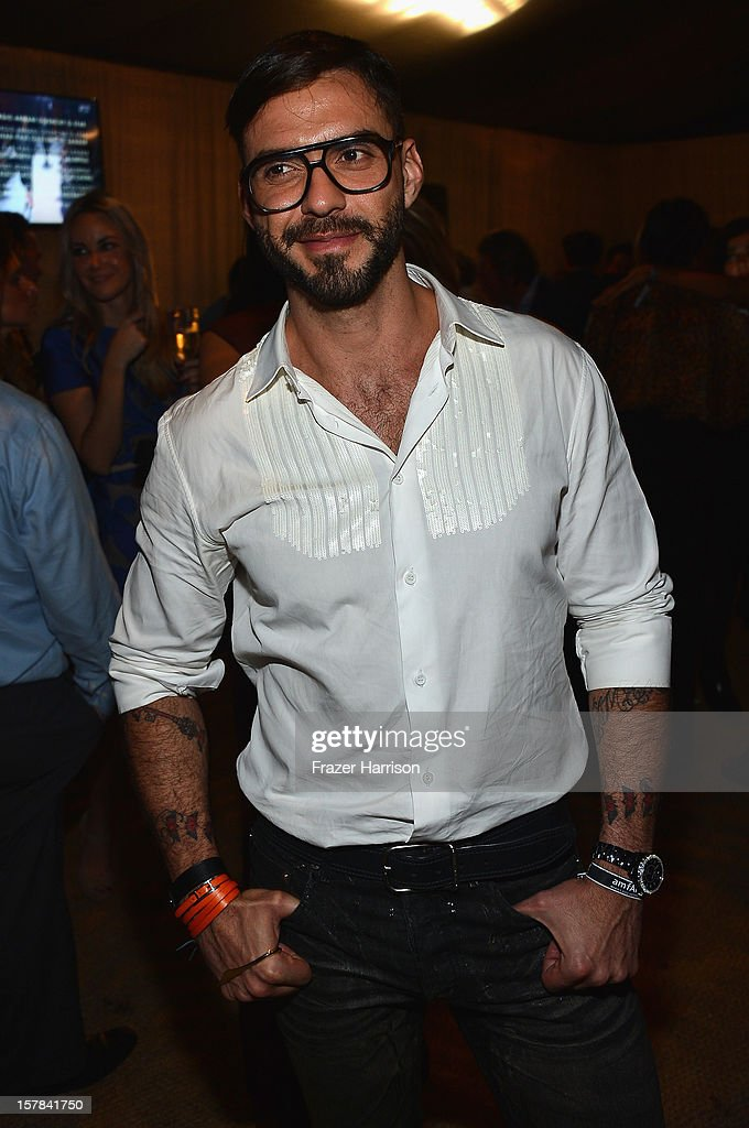 <a gi-track='captionPersonalityLinkClicked' href=/galleries/search?phrase=Lorenzo+Martone&family=editorial&specificpeople=5522803 ng-click='$event.stopPropagation()'>Lorenzo Martone</a> attends the amfAR Inspiration Miami Beach Party at Soho Beach House on December 6, 2012 in Miami Beach, Florida.