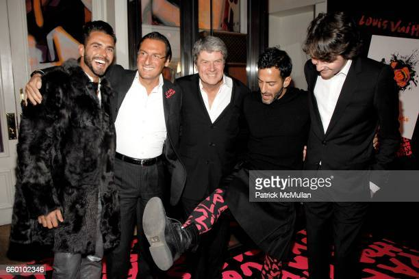 Lorenzo Martone Pietro Beccari Yves Carcelle Marc Jacobs and Antoine Arnault attend LOUIS VUITTON Tribute to STEPHEN SPROUSE VIP Cocktail Party at...