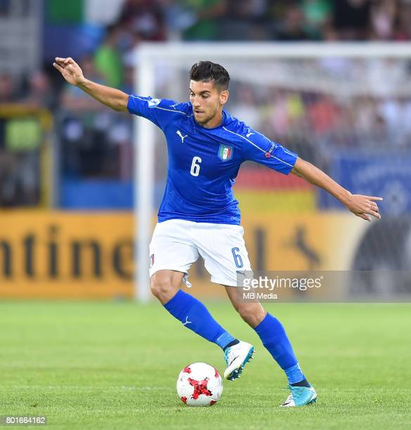Lorenzo Pellegrini during the UEFA European Under21 match between Italy and Germany on June 24 2017 in Krakow Poland