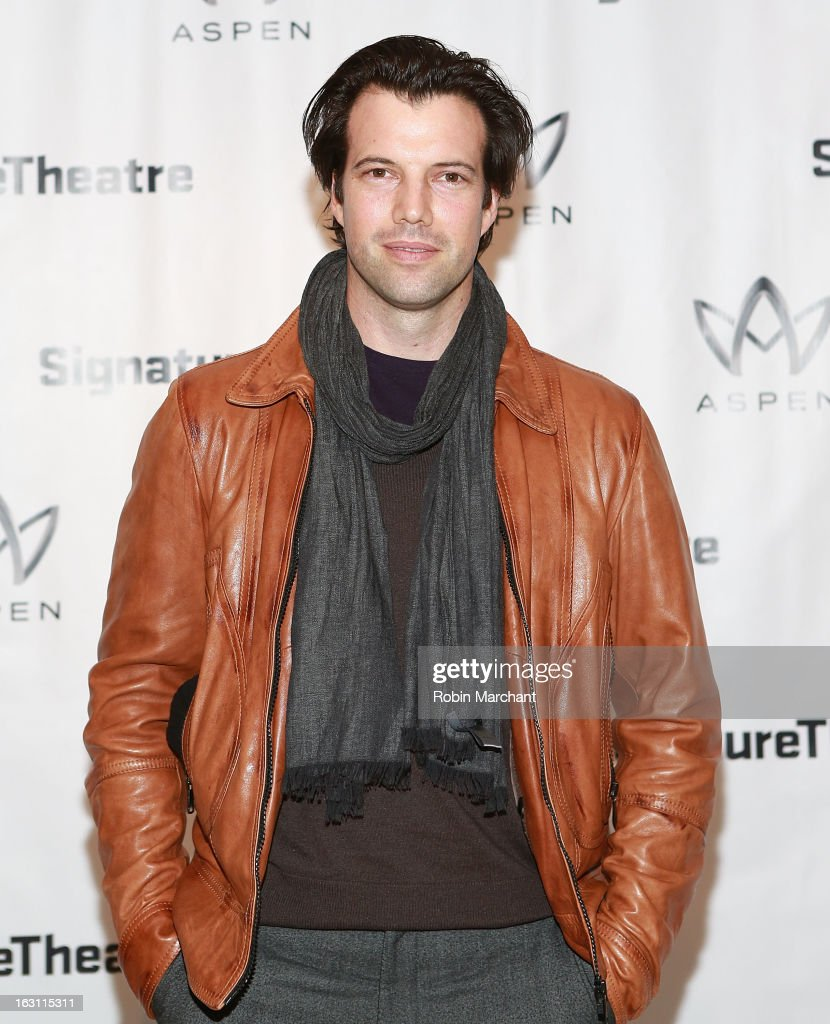 Lorenzo Pisioni attends the 'Old Hats' Opening Night at Signature Theatre Company's The Pershing Square Signature Center on March 4, 2013 in New York City.