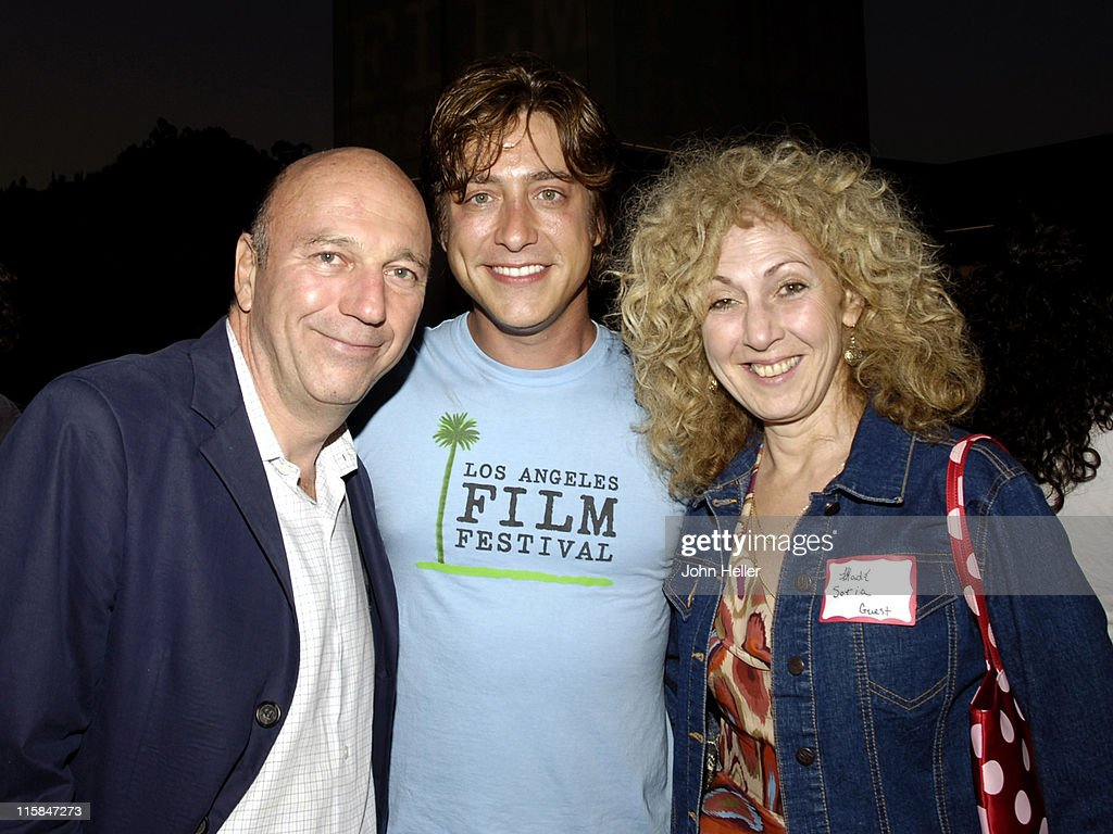 Lorenzo Soria Sean McManus and Madi Soria during Los Angeles Film Festival Project Involve Party June 24 2005 at Laemmle Sunset 5 Theatres in...
