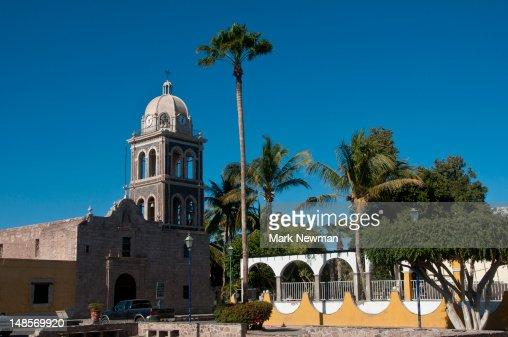 Loreto mission church.