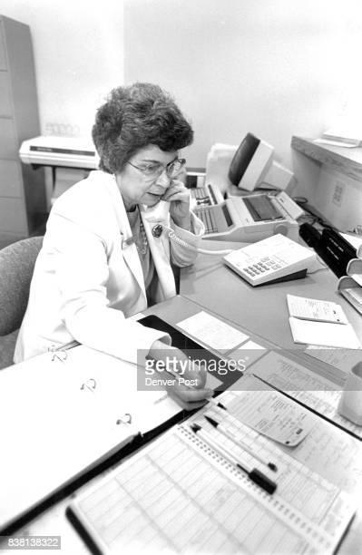 Loretta Fox office coordinator Boulder Valley Radiation Therapy Center CreditThe Denver Post