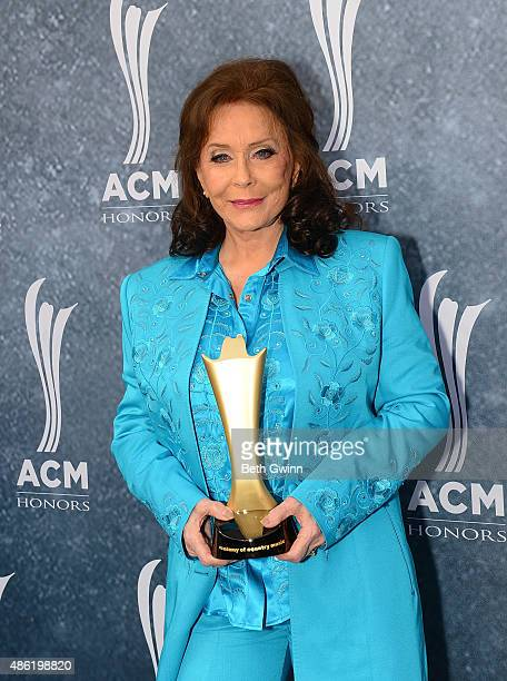 Loretta Lynn attends the 9th annual ACM Honors at Ryman Auditorium on September 1 2015 in Nashville Tennessee