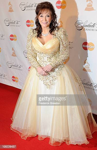 Loretta Lynn attends the GRAMMY Salute to Country Music Honoring Loretta Lynn presented by Mastercard and hosted by The Recording Academy at Ryman...