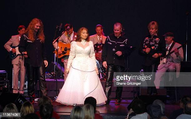 Loretta Lynn during Loretta Lynn In Concert October 27 2006 at The Turning Stone Resort Casino in Verona New York United States